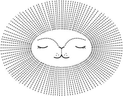 Sunburst-Lion